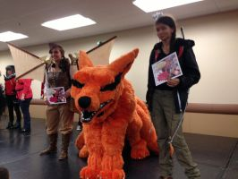 Kyuubi won 1st place at Pittsburgh Comic Con! by Yamishizen