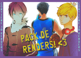 | Pack de renders +100 Watchers | by Monse123