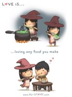 129. Love is... Magical Food by hjstory