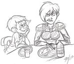 Dinner with the Fix-its by Perverted-Girth