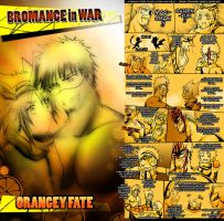 CR: ORANGEY FATE, BROMANCE IN WAR by Bob-Raigen