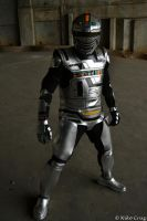 Space Sheriff Gavan Cosplay by ShininGSharivaN