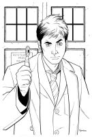 10th Doctor Who by KellyYates