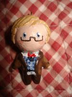 Tiny little Aziraphale by Lilithart13