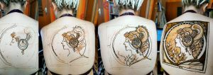 Alphonse Mucha and henna by cydienne
