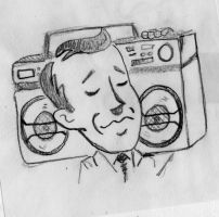 Ghetto Blaster Gary by andy15140