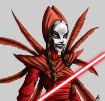 Darth Maul's return battle pack Nightsister by Aliens-of-Star-Wars