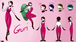 Gum: The Model Sheet by SageIkoma