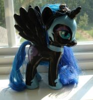 Custom Nightmare Moon MLP by duvete