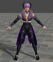 DOA5 Last Round -Fighter Force- Ayane by Irokichigai01