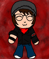 Mikey Way Chibi ^-^ by littleblackmariah