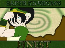 Toph: Earth Kingdom's Finest by AkuaDaWolf