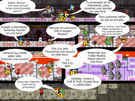Mario and Sonic CV Chapter 2 Part 4 in Spanish by Mazznick