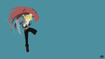 Edward Elric (FMA) Minimalist Wallpaper by slezzy7