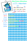 Poke Fusion Adventure: Lilith's Heart Chart by Cocoafox895
