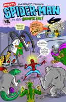 Spidey Vs. the New Sinister Six. by scootah91