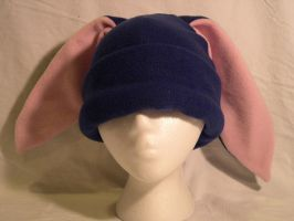 Navy Bunny Hat - CLEARANCE by kittyhats