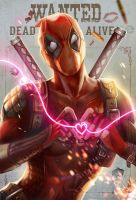 DEAD POOL fan art by jiuge
