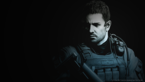 Chris Redfield Wallpaper PS3 by JillValentinexBSAA