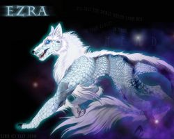 The White Vire Ezra by Howl-n-Hart