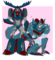 .:Thunderhoof and Steeljaw:. by JACKSPICERCHASE