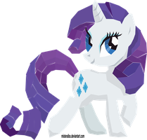 Not Stained Glass: Rarity by MisterAibo