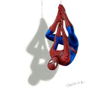 3D drawing - The Amazing Spider-Man 2 by JasminaSusak