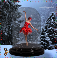 A Little Christmas Ballerina by SuzieKatz