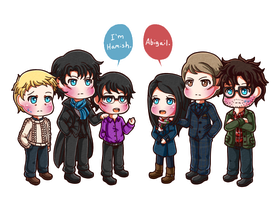 Murder + Detective Family by Rugi-chan
