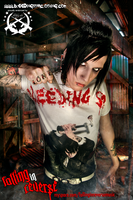 Jacky of Falling in Reverse by BleedingStarClothing