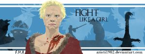 Fight like a girl - Series 2 - Brienne by aristi1982