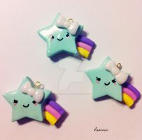 Pastel Shooting Stars by Rhiannon-San