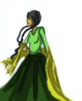 Bolivia colored sketch -other style- by The-Last-Silver-Moon