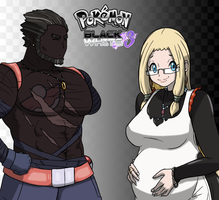 Pokemon BW3: Mom + Dad by Midnitez-REMIX