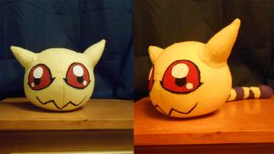Nyaromon Plush by NoxxBunny