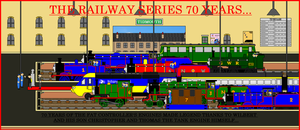 Thomas and Friends - The RWS 70th Anniversary by LGee14