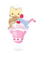 Cilp Art Ice Cream by PowerBerry10