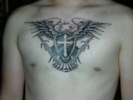First Tattoo by AfflictionODP