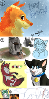 Art Dump by MidnightAlleyCat