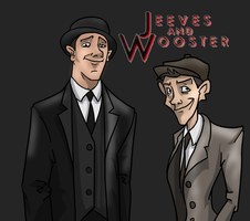 Jeeves and Wooster by gnomKOLIN