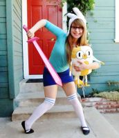 Fionna the Human by pixi996