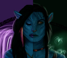 Neytiri and Jake preview by greendesire