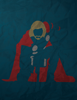Thor Minimalism by AtomicKittenStudios