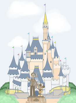 Cinderella's Castle by KJB92