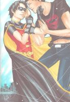 .:YoungJustice:. Bullet Proof Hearts by xLuneNoire