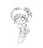 Sailor Chibi Chibi Moon by Pearlypuff