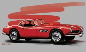 BMW 507 by lukas-art