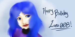 Happy Birthday Luna008 by Red-RainGoddess