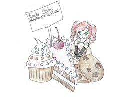 Bake Sale poster by icefire8521