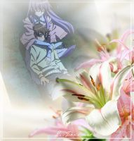 Tatsumi and Sheele Wallpaper by weissdrum